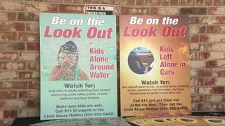 Local child advocates launch campaign to deter hot car deaths, drownings