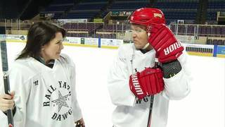 Anchor games wrap up with ice hockey