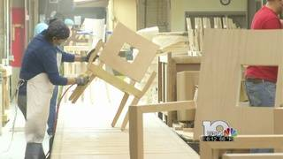 Built in the Blue Ridge: Chervan Furniture