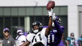 Defenses dominate Jaguars-Vikings practices