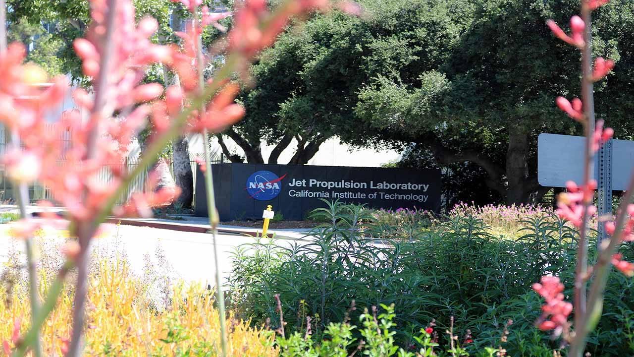NASA JPL entrance