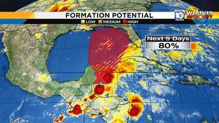 Tropical threat likely to dampen Memorial Day weekend