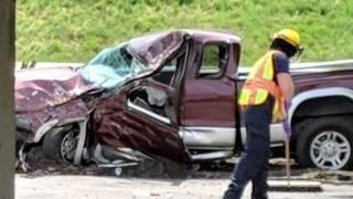 Ware County man killed in single-car crash