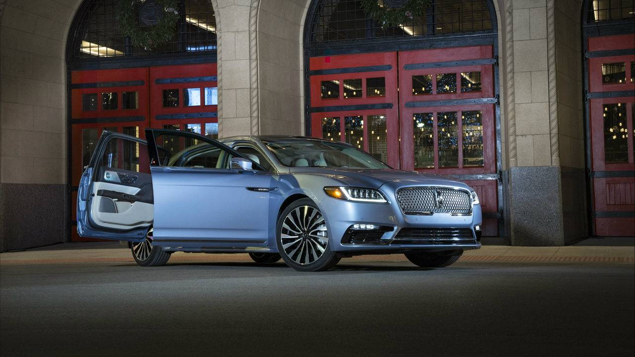 Lincoln Brings Back Iconic Suicide Doors On 2019 Continental