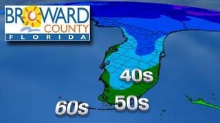 South Florida's Broward County issues cold weather emergency