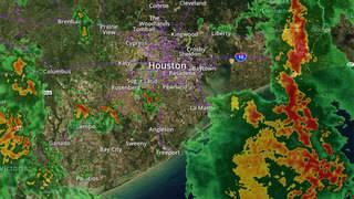 RADAR: Storms move through Houston region