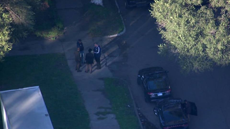 Southwest Detroit police scene Oct 18, 2017