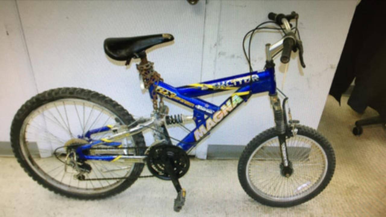 Collin Rose suspect bicycle