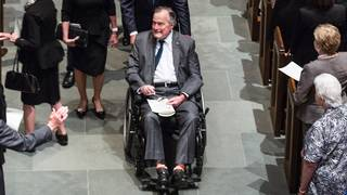 Former President George H.W. Bush moved out of intensive care unit