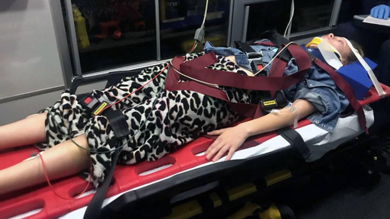 Brianna Neal stretcher