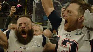'We're going to Disney World:' Julian Edelman, Tom Brady celebrate Super Bowl