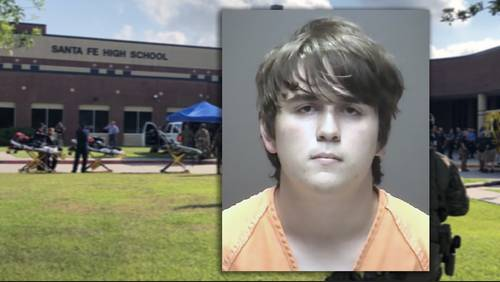 Accused Santa Fe High School shooter taken into federal custody
