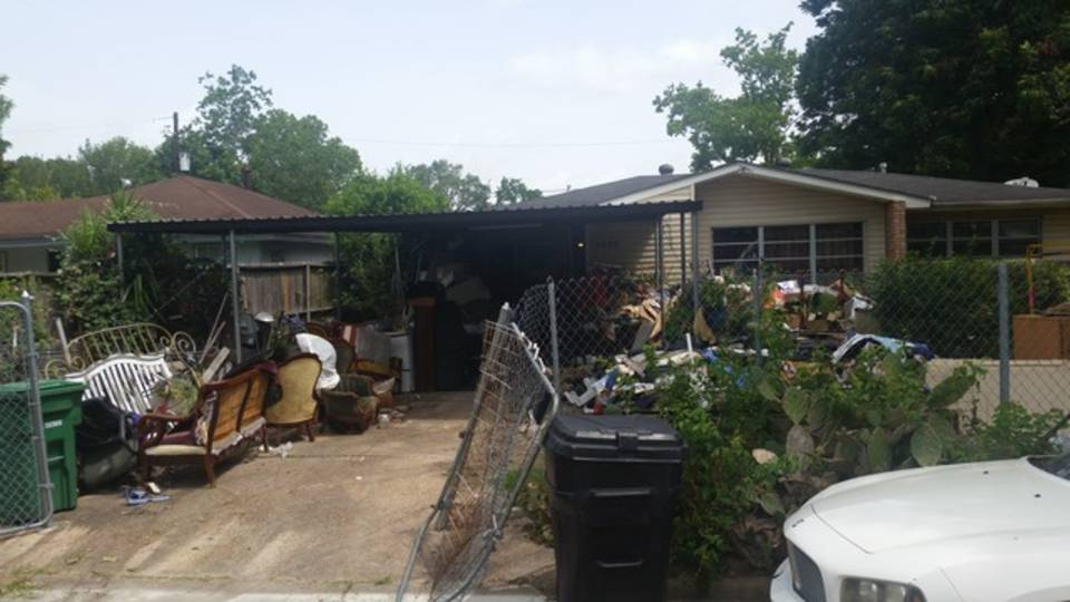 Elderly woman evicted 1