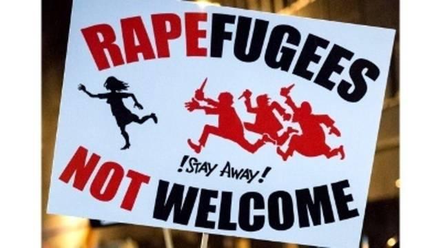 Image result for migrants rapefuges