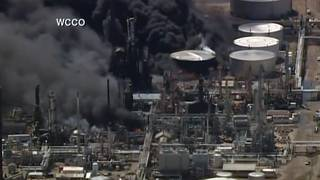 Multiple casualties reported after oil refinery explosion