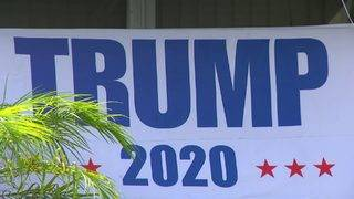 Homeowner's pro-Trump sign causes stir in Plantation
