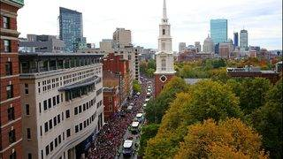 Boston celebrates Red Sox championship with duck boat parade