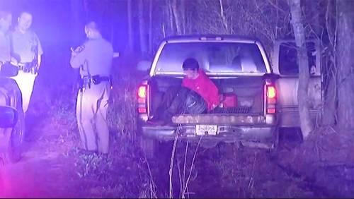 3 men arrested after high-speed chase in stolen truck in Grangerland