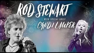 Rod Stewart & Cyndi Lauper Live at Hard Rock!