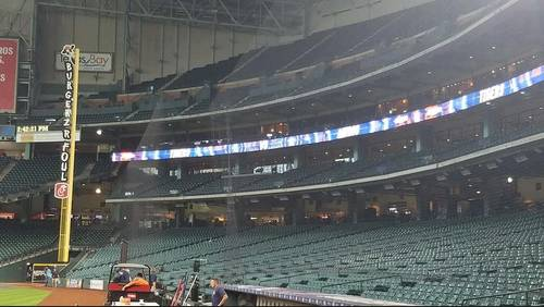 Astros install additional protective netting at Minute Maid Park