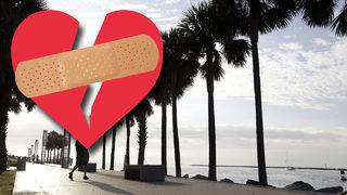 Looking for love? Once again, stay away from South Florida