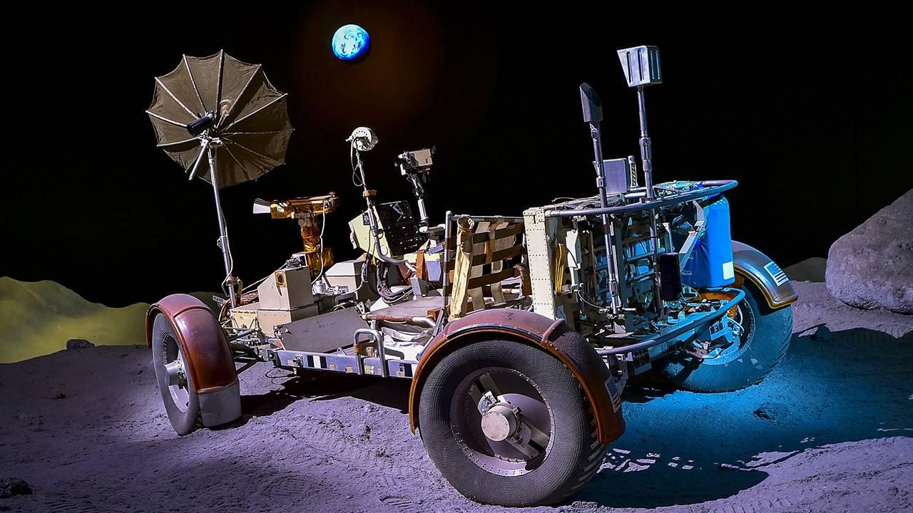 Apollo 50 NASA lunar rover trainer
