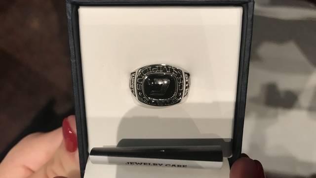 Creekside state championship ring