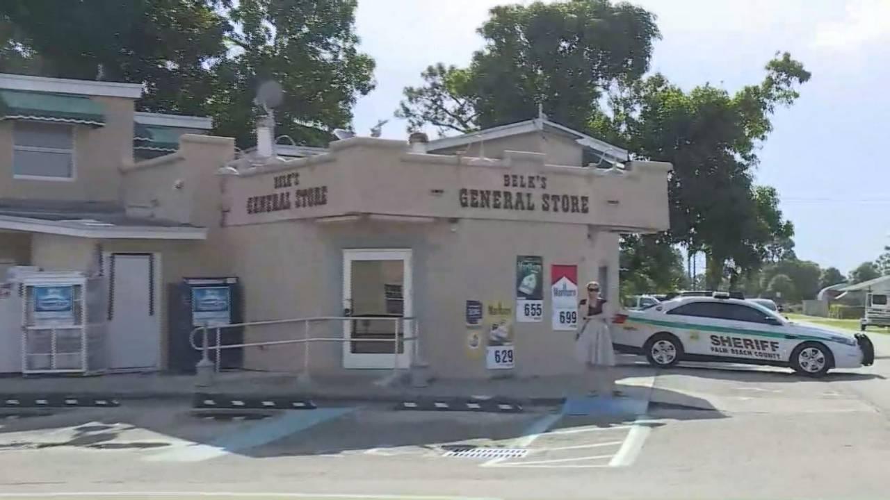 Belk's General Store in Greenacres, where Christy Luna was last seen