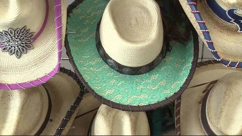 Rodeo Flair: Local woman creates custom hats that spruce up any rodeo look