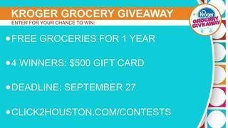 Kroger Grocery Giveaway