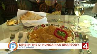 Indulge in the flavors of Europe at Southgate's Hungarian Rhapsody