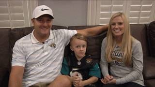Josh Scobee, his family heading to New England to cheer on Jaguars