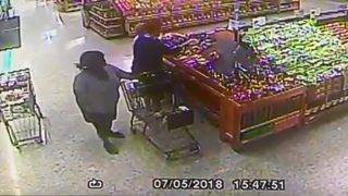 Woman caught on camera stealing wallet from purse at Hollywood Publix