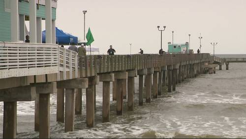 Galveston residents spared from major flooding by short-lived storms