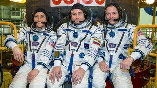 Soyuz launches at 3:14 p.m. on Pi Day