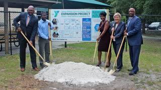 Johnson Family YMCA breaks ground on $3.5M expansion, renovation