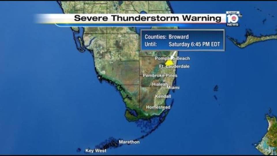 Severe Thunderstorm Warning 8-6