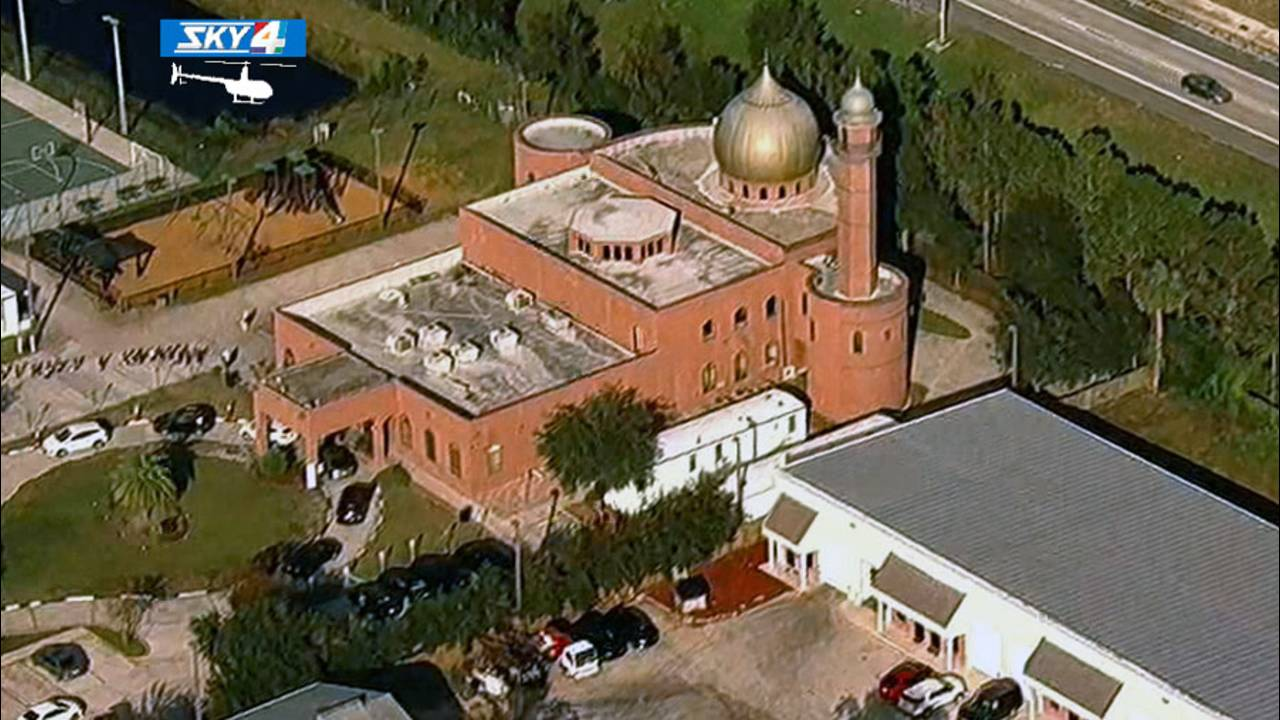 Aerial of Islamic Center of Northeast Florida