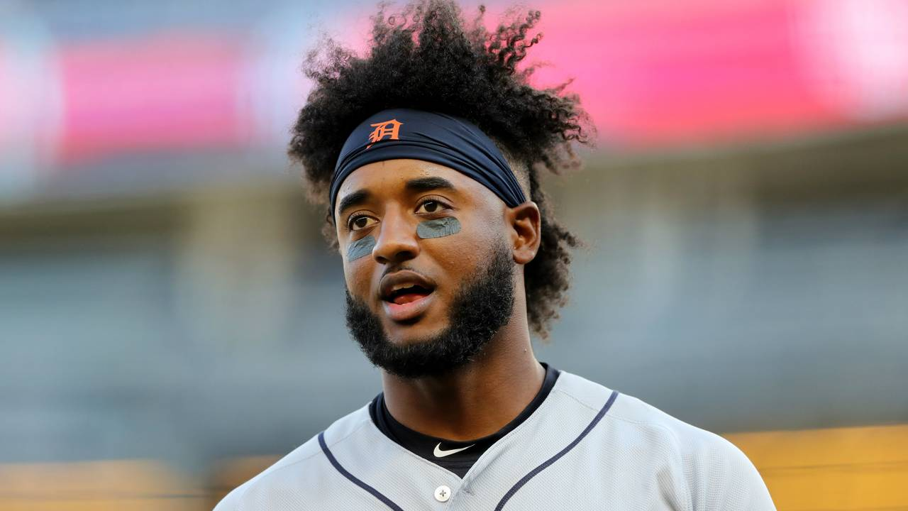 Niko Goodrum Detroit Tigers vs Yankees 2019
