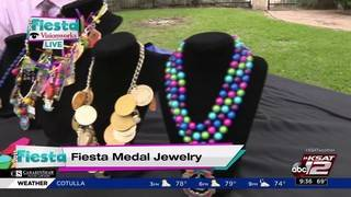 SA woman turns Fiesta medals into jewelry