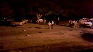 From the vault: Blood stains normally quiet neighborhood after FBI shootout