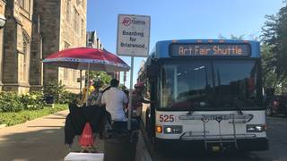 Driving to Ann Arbor Art Fair? Four parking tips to make your