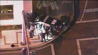 Bay Harbor Islands police officer injured in North Miami crash