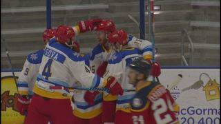 Dawgs drop game one of SPHL Playoffs