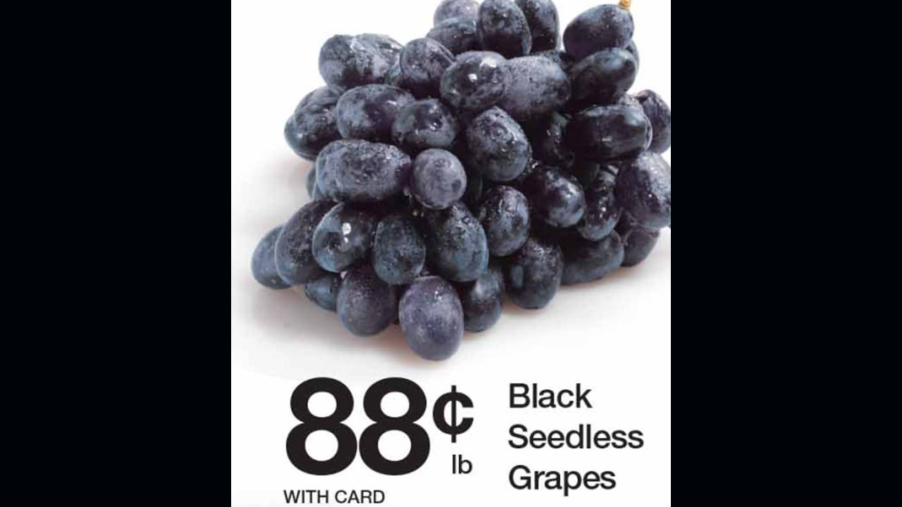 Kroger grapes
