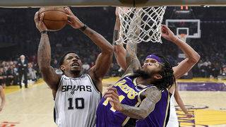 Spurs, Lakers face off again for second time in three days