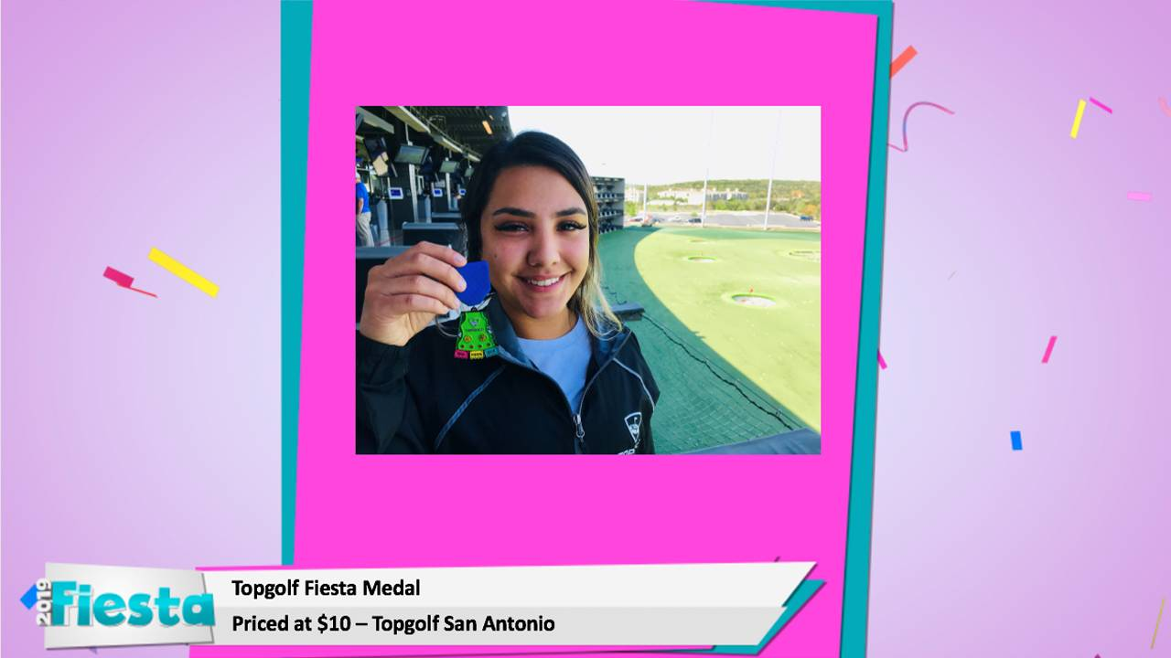 Your 2019 Fiesta Medal Guide