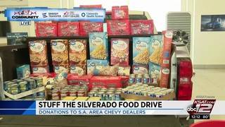 Stuff the Silverado Food Drive continues throughout Sept.