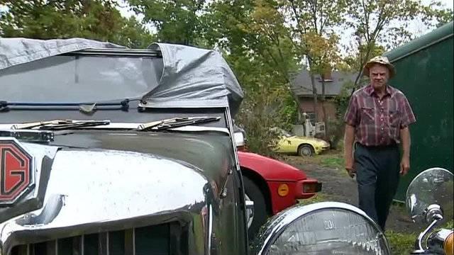 Ron Dauzet car collection