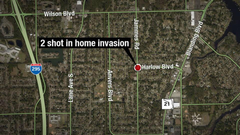 Westside home invasion map